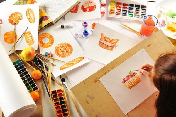 Проведение аукциона и рисунки на планшете