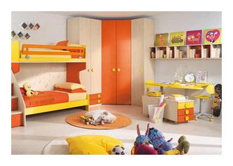 Интерьер комнаты ребёнка в едином стиле