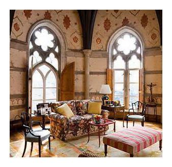 Дизайн интерьера дома в стиле Готика