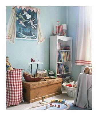 Дизайн детской комнаты в ярких тонах