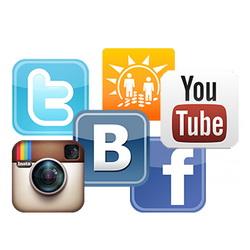 Продвижение в социальных сетях YouTube, ВКонтакте, Одноклассники, Instagram, Facebook, Twitter и накрутка репостов, лайков, подписчиков