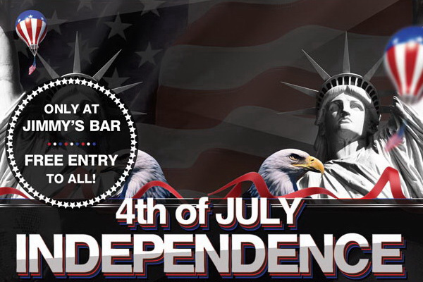 Independence Day в США постер Free PSD