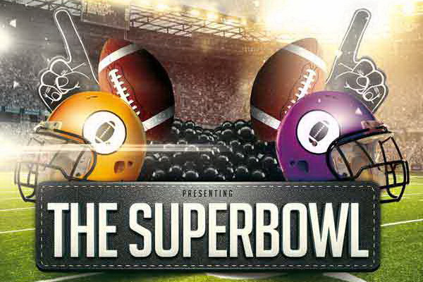 Дизайн плаката The SuperBowl Sports Free PSD